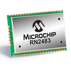 Module RN2483, Microchip